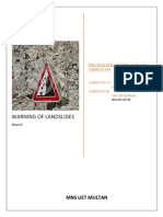 Warning of Landslides
