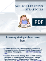Chamot Lanuage Learning Strategies