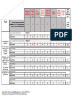 College Decision Tool Excel-template