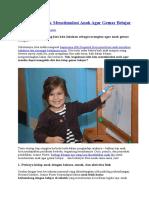 8 Tips Jitu Untuk Menstimulasi Anak Agar Gemar Belajar