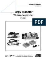 Energy Transfer - Thermoelectric