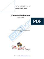 Financial Derivatives Notes MBA