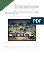 Cerita Rakyat Malin Kundang.docx