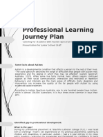 assignment 1 - professional learning journey plan