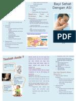 Leaflet Bayi Sehat Dengan Asi