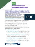 Cisco ISR 4000 Platform Comparison & Benefits of Migrating to Cisco 4000 Series