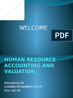 Human Resource Accounting and Valuation (1)