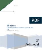 EL HÉROE. POEMA DE MIO CID. 2º POLIMODAL