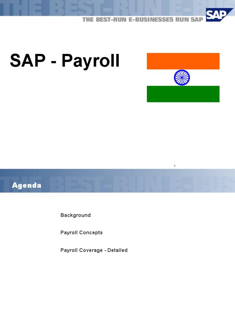 Indian payroll sap payroll loans sciox Choice Image
