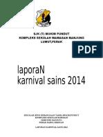 LAPORAN  KARNVAL SAINS