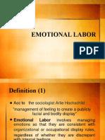 T4 Emotional Labor