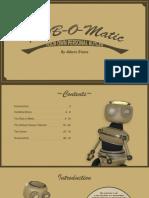 Rob-o-Matic 'Art Of' Document