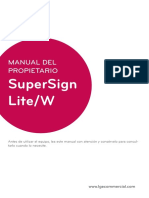 SuperSign W Lite Server v3.7.0 Manual ESP