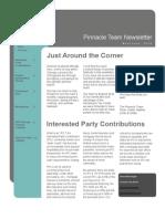 Pinnacle Team May-June 2010 Newsletter