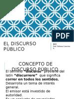 DISCURSO PUBLICO