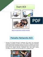 Networks ACE Braindumps