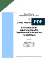 Architecture et urbanisation des SI Hospitalier - Guide Méthodologique