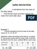 MELJUN CORTES RESEARCH Lectures Standard Deviation