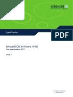IGCSE History 4HI0 Issue 2 090211
