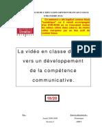 Arby, D. (2009) La vidéo en classe de FLE