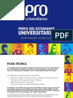 Encuesta Perfil Del Estudiante Universitario 2014