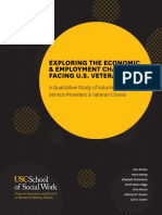 A Study of Volunteers of America Service Providers and Veteran Clients