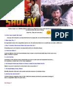 A4 Sholay MGMNT- Mitali