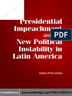 [Anibal Perez-Linan] Presidential Impeachment