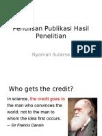 L1_dr sutarsa_1Penulisan Publikasi Hasil Penelitian - KIH 19 Oktober 2014.pptx