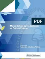 Manual Base Para La Evaluacion de Politicas Publicas