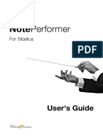 NotePerformer - Users Guide