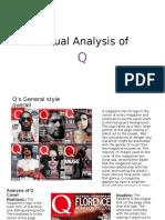 Textual Analysis of Q