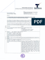 Intimation of Incorporation of a Wholly Owned Subsidiary Company [Company Update]