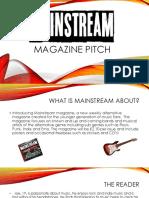 Magazine Pitch