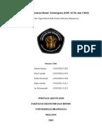 Aplikasi Sistem Informasi Bisnis Terintegrasi