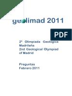 2011 Geolimad Prueba Test