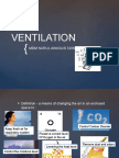 ventilation system ppt