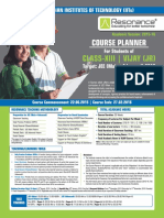 VIJAY (JR) Course Planner 2015