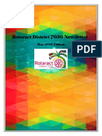 District Newsletter May 2016 (English)