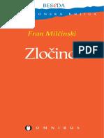 Fran Milčinski - Zločinci