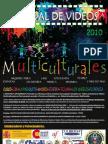 Bases y Afiche Festival Videos Multiculturales