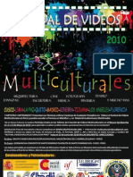 Bases y Afiche Festival Videos Multiculturales