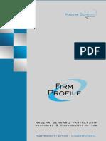 Firm Profile Masena Benhard Advocates