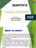 14. Logical Notation, Ackytoffvuxomi