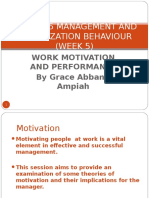GBUS 205 Management and Organizational Behaviour Lect 4 Motivation (1)