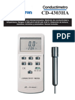 Conductimetro CD 4303HA