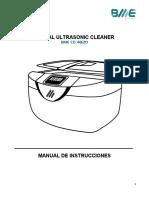 Lavadora Ultrasonica CD-4820