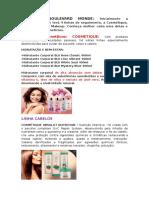 Produtos Boulevard Monde Daiane