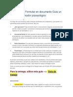 Actividad 10. Formular en Documento Guía Un Plan Transformador Praxeológico