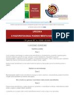Uredba o Razvrstavanju Radnih Mesta Namestenika